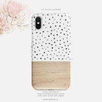 【アウトレット】【ネコポス送料無料】SUGARLOAF GRAPHICS | TRIANGLE POLKA DOT | iPhone 7/8ケース