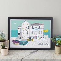 JESSICA HOGARTH | BAY HOTEL ART PRINT | A3 アートプリント/ポスター【北欧 リビング おしゃれ】の商品画像