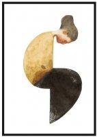 JORGEN HANSSON | Sitting woman no.14 | アートプリント/ポスター (50x70cm)の商品画像