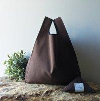 【ネコポス送料無料】ATELIER SETTEMBRE | MINIMALIST TOTE BAG (brown) | トートバッグ/ショッピングバッグの商品画像