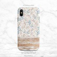 【ネコポス送料無料】SUGARLOAF GRAPHICS   BLUE BOTANICAL   iPhone 7/8/SE(第2世代)ケースの商品画像