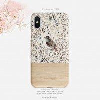 【ネコポス送料無料】SUGARLOAF GRAPHICS | BOHO BIRD LEAF | iPhone 7/8/SE(第2世代)ケース