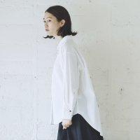Cion   コットンフライシャツ (ホワイト)   トップス【送料無料 長袖 コットン シンプル】の商品画像