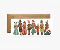RIFLE PAPER CO. | CAROLERS CHRISTMAS クリスマスキャロル (G1X004) | クリスマス・ランドスケープカード