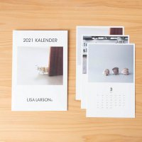 LISA LARSON (リサ・ラーソン) | ポストカードカレンダー2021(セラミックワークス)