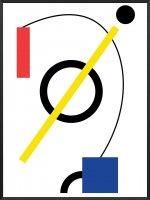 PROJECT NORD | BERLIN BAUHAUS POSTER | アートプリント/ポスター (50x70cm)【北欧 デンマーク インテリア】の商品画像