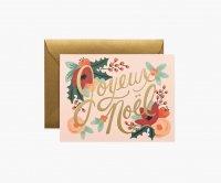 RIFLE PAPER CO. | JOYEUX NOEL ジュワイユ・ノエル (GCX029) | クリスマス グリーティングカード