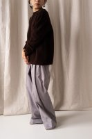hatsutoki | furmer (ダークブラウン) | トップス【送料無料 ハツトキ ナチュラル 播州織】の商品画像
