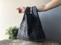 【ネコポス送料無料】ATELIER SETTEMBRE | TOTE BAG (bronze and gray tartan) | トートバッグ/ショッピングバッグの商品画像