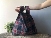 【ネコポス送料無料】ATELIER SETTEMBRE | TOTE BAG (red tartan #3) | トートバッグ/ショッピングバッグの商品画像