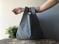 【ネコポス送料無料】ATELIER SETTEMBRE | Prince of Galles TOTE BAG (grey) | トートバッグ/ショッピングバッグの商品画像