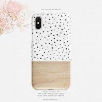 【ネコポス送料無料】SUGARLOAF GRAPHICS | TRIANGLE POLKA DOT | iPhone 12ケースの商品画像