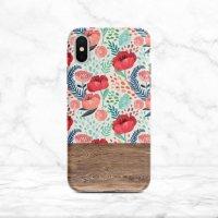 【ネコポス送料無料】SUGARLOAF GRAPHICS | RED MINT FLOWER | iPhone 12 ケースの商品画像