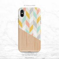 【ネコポス送料無料】SUGARLOAF GRAPHICS | COLORFUL CHEVRON | iPhone 12 miniケースの商品画像