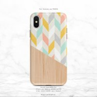 【ネコポス送料無料】SUGARLOAF GRAPHICS | COLORFUL CHEVRON | iPhone 12ケースの商品画像