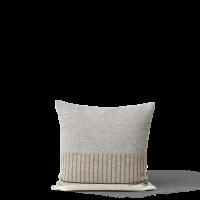 FORM & REFINE | アイマラ スクエアクッション (grey)  52x52cm【北欧 中綿付き アルパカウール】