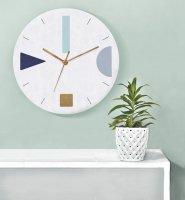 GALIA STUDIO | Geometric Wall Clock (terrazzo aqua green)【壁掛け時計 北欧 ノルディック モダン インテリア】の商品画像