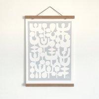 【ネコポス送料無料】ELOISE RENOUF | WINTER (white) | A4 アートプリント/ポスターの商品画像