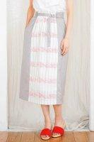 sneeuw (スニュウ) | フォトコラージュJQスカート (red/saxe) | ボトムス【春夏 カジュアル レディース】の商品画像