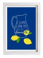 ANEK | Italian Kitchen Art Print Lemonade | アートプリント/ポスター (50x70cm)【北欧 カフェ レストラン インテリア おしゃれ】の商品画像