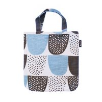 KAUNISTE (カウニステ)   SOKERI MINI BAG (ブルー)   ミニバッグの商品画像