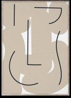 PAPER COLLECTIVE   DIFFERENT STROKES   アートプリント/アートポスター (30x40cm)【北欧 シンプル インテリア おしゃれ】の商品画像