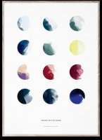 PAPER COLLECTIVE   MOON PHASES   アートプリント/アートポスター (50x70cm)【北欧 シンプル インテリア おしゃれ】の商品画像