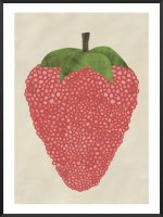 PROJECT NORD | BUBBLE STRAWBERRY POSTER | アートプリント/ポスター (50x70cm)【北欧 デンマーク シンプル おしゃれ】の商品画像