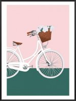 PROJECT NORD | BIKING INTO SPRING POSTER | アートプリント/ポスター (50x70cm)【北欧 デンマーク おしゃれ】の商品画像