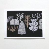 ELOISE RENOUF | Winter Trees | A3 アートプリント/ポスター【北欧 インテリア ボタニカル アブストラクト】の商品画像