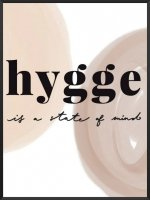 PROJECT NORD | HYGGE IS A STATE OF MIND POSTER | アートプリント/ポスター (50x70cm)【北欧 デンマーク おしゃれ】の商品画像