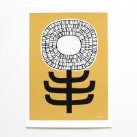 ELOISE RENOUF | Single Stem (mustard) | A3 アートプリント/ポスター【北欧 インテリア ボタニカル アブストラクト】の商品画像