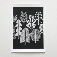 ELOISE RENOUF | Winter Trees No2 | A4 アートプリント/ポスター【ネコポス送料無料 北欧 インテリア ボタニカル アブストラクト】の商品画像