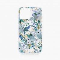 RIFLE PAPER CO. | CLEAR GARDEN BLUE | iPhone 12/12 pro【ライフルペーパー スマホケース アイフォン ボタニカル】の商品画像