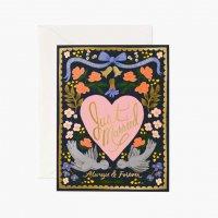 RIFLE PAPER CO. | ウェディングバード (GCW025) | グリーティングカード【ライフルペーパー 結婚祝い 結婚式 手紙 ギフト】の商品画像