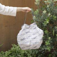 LISA LARSON (リサ・ラーソン) | シュパットM(ロッツオブキャット・グレー)【北欧 エコバッグ かわいい】の商品画像