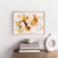 dear musketeer   BOUQUET ABSTRACT MUSTARD PRINT   A3 アートプリント/ポスター【北欧 インテリア おしゃれ】の商品画像