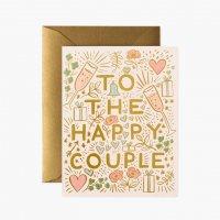 RIFLE PAPER CO.   ハッピーカップル (GCW026)   グリーティングカード【ライフルペーパー 結婚祝い 結婚式 手紙 ギフト】の商品画像