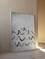 FINE LITTLE DAY | WAVE POSTER | アートプリント/アートポスター (50x70cm) 北欧 雑貨 インテリア リビング おしゃれの商品画像
