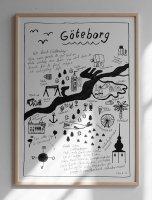 FINE LITTLE DAY | GOTHENBURG POSTER | アートプリント/アートポスター (50x70cm) 北欧 雑貨 インテリア リビング おしゃれの商品画像