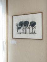 FINE LITTLE DAY | TREES POSTER | アートプリント/ポスター (50x70cm) 北欧 雑貨 インテリア リビング おしゃれの商品画像