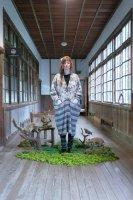bedsidedrama | North Landic Gawn Cardigan (light grey) | 送料無料 カーディガン アウター ベッドサイドドラマの商品画像