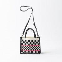 TRICOTE | CHECKERED PATTERN SHOULDER BAG | トリコテ バッグ 可愛い おしゃれの商品画像