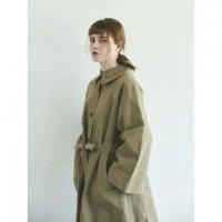MAGALI | コットンリネン・ウェザー・トレンチコート (beige) | 送料無料 アウター マガリ リネン ナチュラルの商品画像