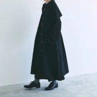MAGALI | コットンリネン・ウェザー・トレンチコート (black) | 送料無料 アウター マガリ 人気の商品画像