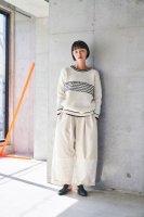 sneeuw (スニュウ) | 電線セーター (ivory) size1| 送料無料 トップス セーターの商品画像