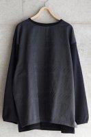 sneeuw (スニュウ) | ウィンドウJQプルオーバー (charcoal grey) size1 | 送料無料 トップス プルオーバーの商品画像