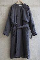 sneeuw (スニュウ) | パディングトレンチコート (charcoal gray) size1| 送料無料 アウター トレンチコートの商品画像