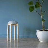 KLIPPAN (クリッパン) | シャーンスンド (ライトブルー) SSサイズ | スツール 送料無料 北欧 スウェーデン 椅子 天然木の商品画像