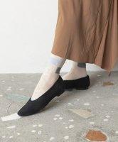 TRICOTE   COLOUR BLOCK SOCKS (ivory)   靴下 ソックス トリコテの商品画像